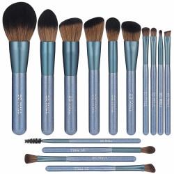 BS03 - BS-MALL 14 st. exklusiva Make-up / sminkborstar av Bästa