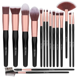 BS12 - BS-MALL 16 st. exklusiva Make-up / sminkborstar av Bästa