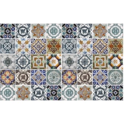 Marrakech dekorplast självhäftande kontaktplast matt färgad