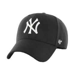 47 Brand New York Yankees MVP Cap B-MVPSP17WBP-BK Svart 7