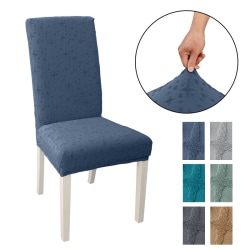 Dining Chair Covers Stretch Slipcover Wedding Banquet Home Party Dark Gray