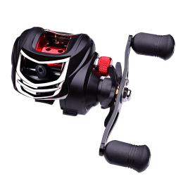 7.2:1 Gear Ratio Fishing Reels 8KG Drag Left/Right Handed Left Handed
