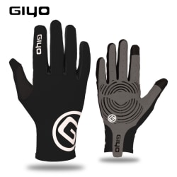 Full Finger Cycling Gloves Bicycle Bike Touchscreen Motorcycle Black,M