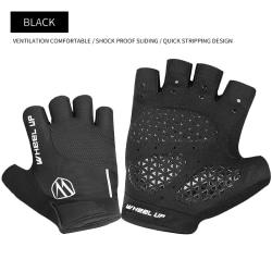 Half Finger Sports Gloves Bicycle  black,M