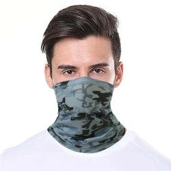 Outdoor Mask Scarf Headwear Fishing Fitness Running Grey 1