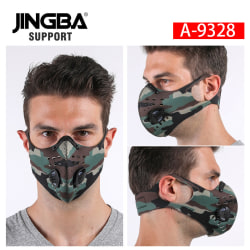 Reusable Mouth Cover Dust Protection Filter  9328 Camouflage