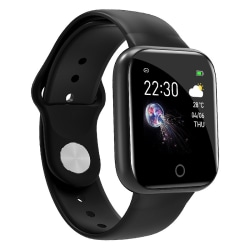 Smart Watch Heart Rate Tracker Blood Monitor Black,Silicone
