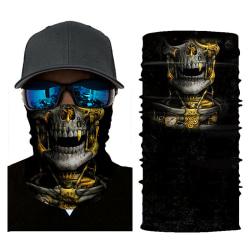 Sun Mask Neck Tube Scarf Cover Tactical Gaiter Bandana Headwear One size