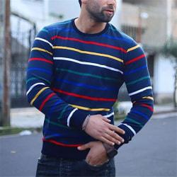 Super Value-MEN-Tops&Pullover&Sweater&Jumper-Turtle&High Neck Colourful,3XL