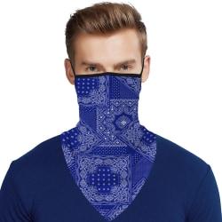 Unisex Balaclava Sun Mask Neck Tactical Masks Headscarf Gaiter stripe #7