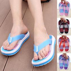 Women's beach shoes outdoor sandals flip-flop sandals black,41