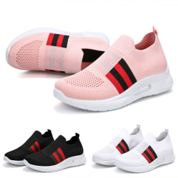 Women's Breathable Sneakers Casual Shoes Running Tennis Sports Black,38