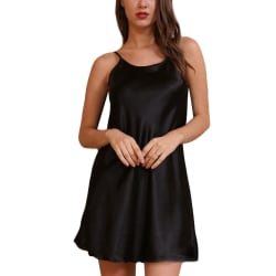 Women's Sexy Nightwear Lingerie Nightwear Dress Home Wear Black,M