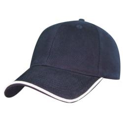 Marinblå  keps utan tryck rodeoma