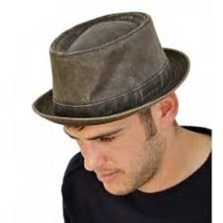 XL/60-61 Stetson hatt ODENTON PORKPIE hatt ANTRACITGRÅ grå