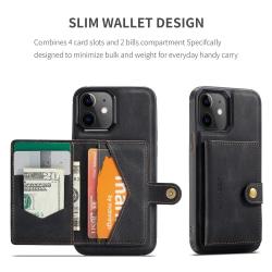 Premium skal med avtagbar plånbok till iPhone 12 / 12 Pro