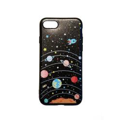 iPhone SE 2020 / 7 / 8 - Skal med  solsystemet.