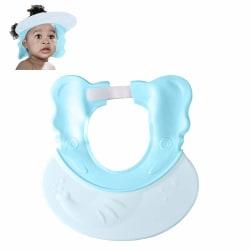 Babyduschlock Silikonbadvisir BLÅ