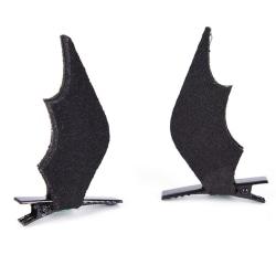 1 par vingar bat hårnålar Halloween hårklipp flickor kostym