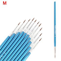 10 st / lot Line Drawing Pen Artist Paint Brush M