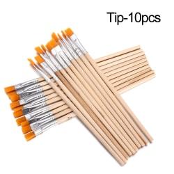 10st Hook Line Pen Paint Brushes Drawing Brush TIP-10PCS