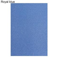 10st omslagspapper hantverk papper A4 glitter kort ROYAL BLUE