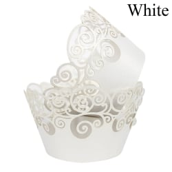 12st Cupcake Wrappers Cake Paper Cups Muffinfodral VIT