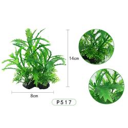 14 cm konstgjorda växter akvariedekor undervattensgräs P517