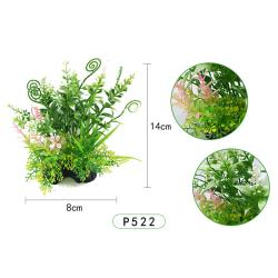 14 cm konstgjorda växter akvariedekor undervattensgräs P522