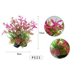 14 cm konstgjorda växter akvariedekor undervattensgräs P523