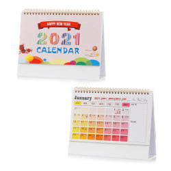 2021 Kalender Desk Kalender Desktop Standing Flip COLOR1