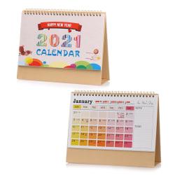 2021 Kalender Desk Kalender Desktop Standing Flip COLOR2