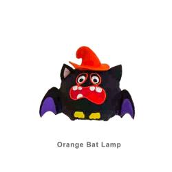 Pumpkin Light Lamp ORANGE BAT LAMP ORANGE BAT LAMP Orange Bat Lamp