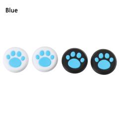 4 st tumstickshandtag silikon BLÅ blue