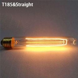 Vintage Retro glödlampa Edison lampa T185 & RAKT