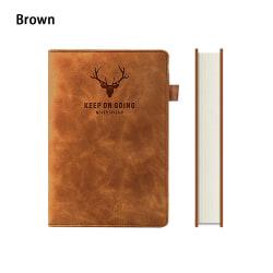A5 anteckningsblock anteckningsbok 360 sidor BRUN