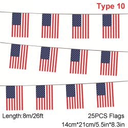 Amerikanska flaggan USA Banners Garden Falg TYP 10