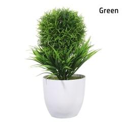 Konstgjord Bonsai Plastväxt GRÖN