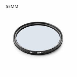 Kameralinsfilter CPL 58MM