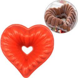 DIY kakform mögel bakverk formar hjärta form mögel silikon