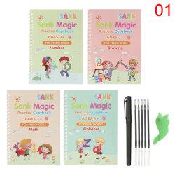 Magic Writing Stickers Kids Groove Copybook Handwriting 1
