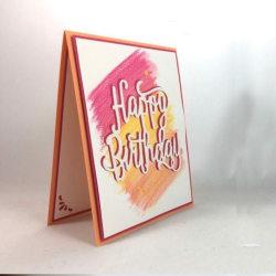 Grattis på födelsedagen Cutting Dies Stencils Embossing Scrapbooking