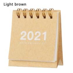 Mini Desk Calendar 2021 Kalendrar Agenda Arrangör LJUSBRUN