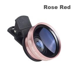 Mobiltelefonlins HD-kamera Clip-on Telescope ROSE RED