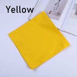 Square Headband Bandana Head Scarf GUL yellow