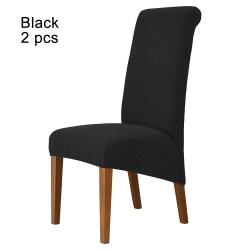 Stolöverdrag Sitsöverdrag SVART 2 ST 2 ST black 2 pcs-2 pcs