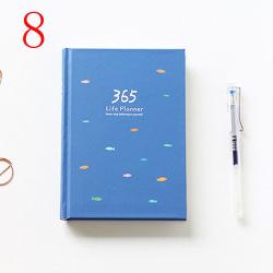 Weekly Notebook Planner Book Tom anteckningsblock 8