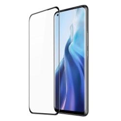 Xiaomi Mi 11 Skärmskydd Heltäckande Härdat Glas Transparent