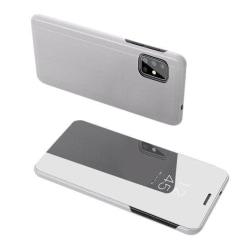 Samsung Galaxy A42 5G Smart View Fodral - Silver Silver