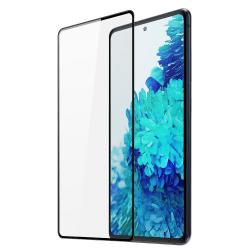 Samsung Galaxy S20 FE 5G Skärmskydd Heltäckande Härdat Glas Transparent